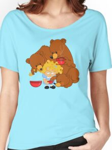 Goldilocks and the Three Bears Women's Relaxed Fit T-Shirt