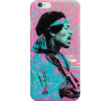 Jimi Hendrix - Psychedelic Sixties by Pepe Psyche iPhone Case/Skin