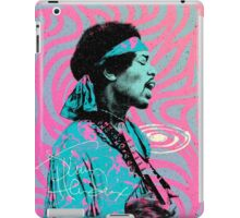 Jimi Hendrix - Psychedelic Sixties by Pepe Psyche iPad Case/Skin