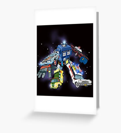 Defender of the Nerdverse Greeting Card