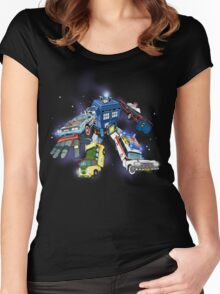 Defender of the Nerdverse Women's Fitted Scoop T-Shirt