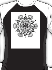 Mandala Flower Lotus Nature T-Shirt