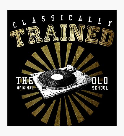 Classically Trained DJ's Turntable  Photographic Print