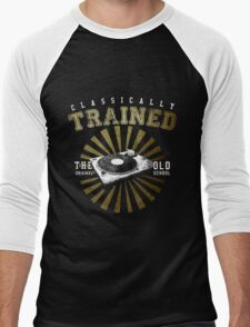 Classically Trained DJ's Turntable  Men's Baseball ¾ T-Shirt