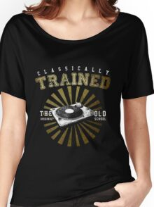 Classically Trained DJ's Turntable  Women's Relaxed Fit T-Shirt