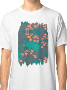 Medusa / Crazy Jellyfish Blue Atoll Classic T-Shirt