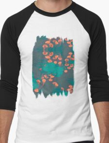 Medusa / Crazy Jellyfish Blue Atoll Men's Baseball ¾ T-Shirt