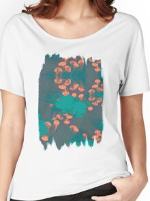 Medusa / Crazy Jellyfish Blue Atoll Women's Relaxed Fit T-Shirt