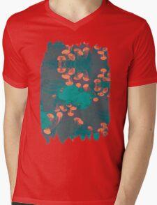 Medusa / Crazy Jellyfish Blue Atoll Mens V-Neck T-Shirt