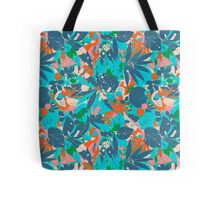 Brazil Hip Hop Pattern by Pepe Psyche Tote Bag