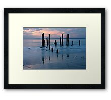 Remains Of The Day Framed Print