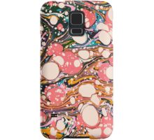 Psychedelic Retro Marbling Paper Samsung Galaxy Case/Skin