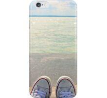 my converse & lakeshore iPhone Case/Skin