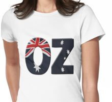 Australia OZ Womens Fitted T-Shirt
