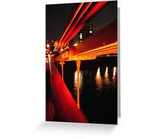 Clyde Bridge, Glasgow Greeting Card