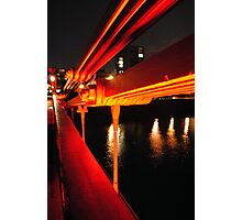 Clyde Bridge, Glasgow Photographic Print