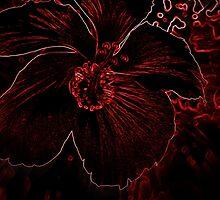 Fury Red Exotic Flower by MissBeloved