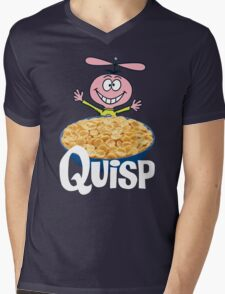 Quisp Mens V-Neck T-Shirt
