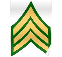 United States Sergeant Poster