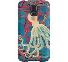 Marbling Paper Octopus Blob by Pepe Psyche Samsung Galaxy Case/Skin