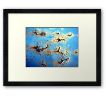 Aquatic Twilight Framed Print