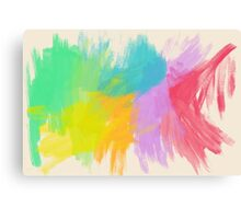Splash of Colors Canvas Print
