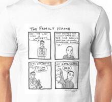 The Lovecraft Family Name Unisex T-Shirt
