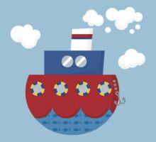little boat Kids Tee
