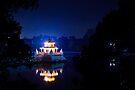 Rani Pokhari the Queens Pond - Kathmandu by David Lewins