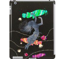 Space Surrealism Pop Vintage Woman II iPad Case/Skin
