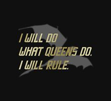 RULE Daenerys Targaryen Womens Fitted T-Shirt