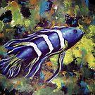 Blue Fish by Pamela Plante