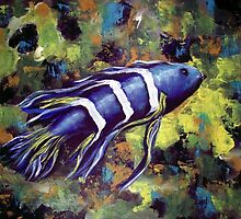 Blue Fish by Pamela Plante