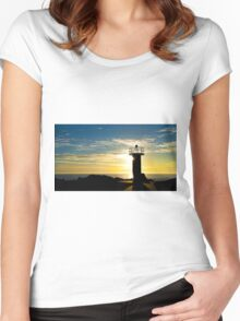 Beacon of Light - Gold Coast Qld Australia Women's Fitted Scoop T-Shirt