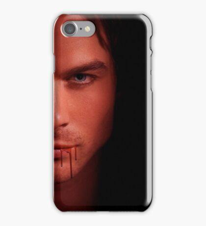 Damon Salvatore Ian Somerhalder iPhone Case/Skin