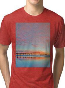 Pastel Sunrise - Gold Coast Qld Australia Tri-blend T-Shirt