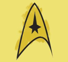 Star Trek brushed logo One Piece - Short Sleeve