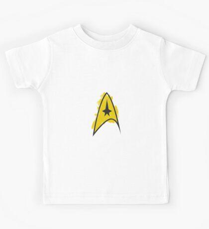 Star Trek brushed logo Kids Tee