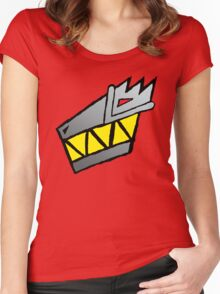 Dino Charge/Kyoryuger Symbol Women's Fitted Scoop T-Shirt