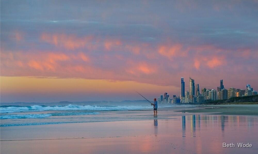 Catching the Sunrise too - Gold Coast Qld Australia by Beth  Wode