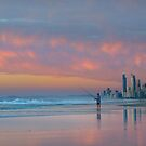 Catching the Sunrise too - Gold Coast Qld Australia by Beth  Wode