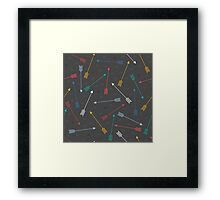 Aztec Arrows Framed Print