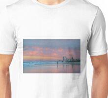 Catching the Sunrise too - Gold Coast Qld Australia Unisex T-Shirt