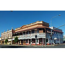 Francis Hotel, Maryborough, Qld Australia Photographic Print