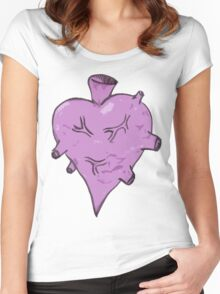 This hearty be pumpin Women's Fitted Scoop T-Shirt