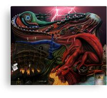 Prince of Disaster Canvas Print