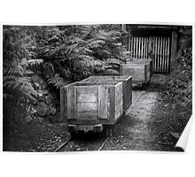 Coal Carts  Poster