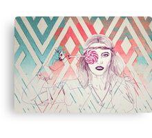 Lollipop Girl Canvas Print