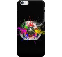 It's Morphin Time - Go Go Power Rangers iPhone Case/Skin