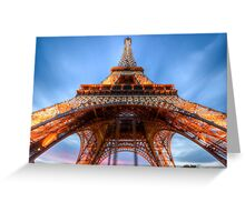 Eiffel Tower 5 Greeting Card